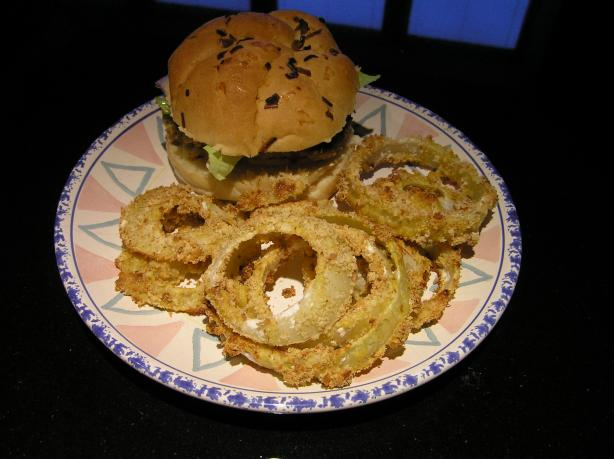 Simply the Best Baked Onion Rings!. Photo by Belinda Rawlins