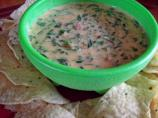 Barb's Spinach Queso Dip