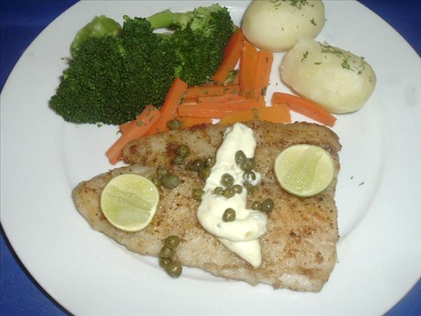 Sauteed Chilean Sea Bass. Photo by Bergy
