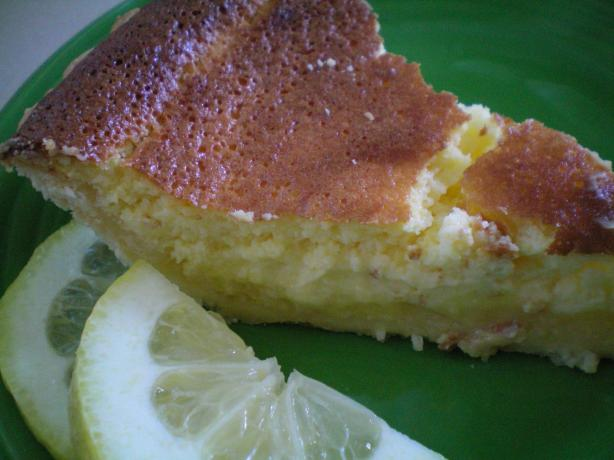 Lemon Pudding Pie. Photo by CoffeeB