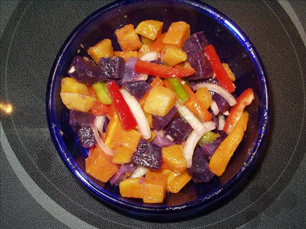 Sweet Potato Salad. Photo by Judy from Hawaii