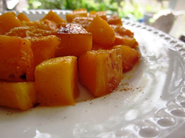Roasted Butternut Squash in Brown Butter and Nutmeg. Photo by gailanng