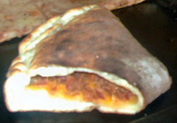 Bacon Cheese Stromboli. Photo by Karen=^..^=