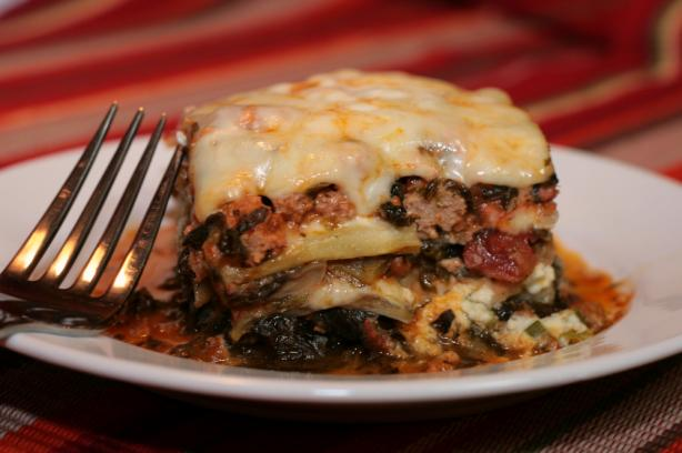 I Lost My Noodles! Low Carb/South Beach Eggplant Lasagna. Photo by Kim Dever Thibodeaux