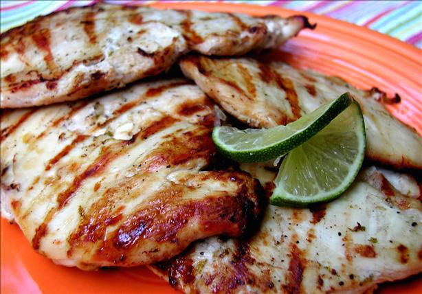 Grilled Lime Chicken. Photo by GaylaJ