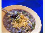 Black Bean Onion Soup