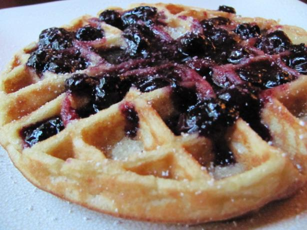 Tipsy Overnight Belgian Waffles. Photo by under12parsecs