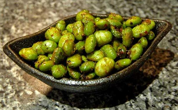 Roasted Edamame. Photo by Sackville
