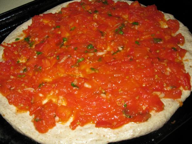 Tomato Basil Pizza Sauce. Photo by Chef #554929