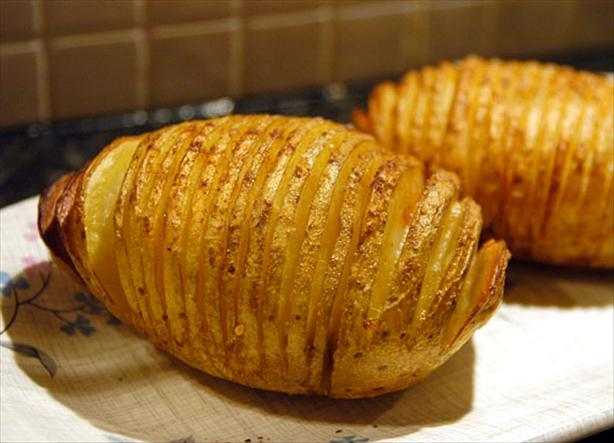 Spicy Hasselback Potatoes. Photo by -Sylvie-