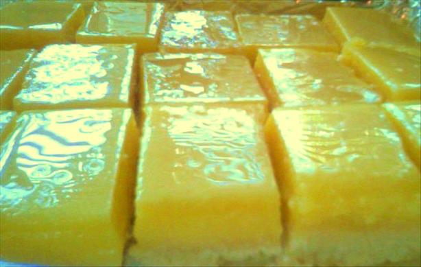 Susan's Perfect Lemon Bars. Photo by May M