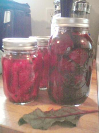 Pickled Beets. Photo by Ed & Cheryl
