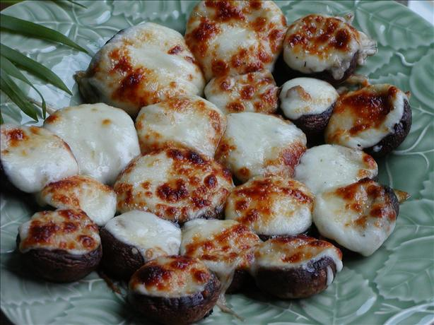 Mushrooms Stuffed With Swiss Cheese. Photo by Rita~