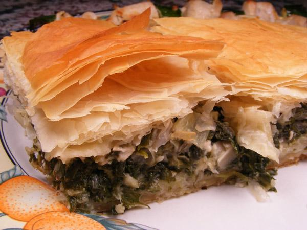 Spanakopita (Greek Spinach Pie). Photo by Lavender Lynn