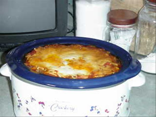 Crock pot Lasagna. Photo by Chef #181343