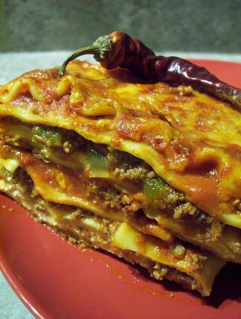 Chili Lasagna. Photo by * Pamela *