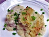 Irish Cod Pie Topped With Mashed Potatoes