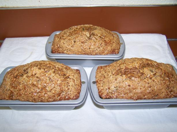 Brown Sugar Zucchini Bread. Photo by Chef PotPie
