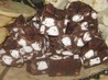 rocky road fudge. Recipe by LeahG