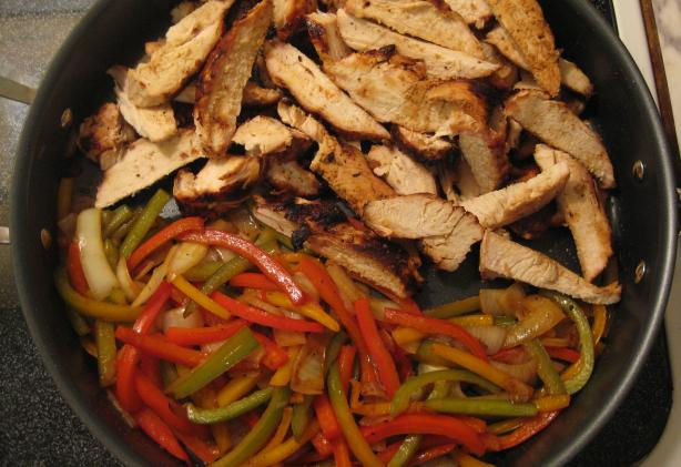 Chili&#39;s Fajitas. Photo by Gamer Gal