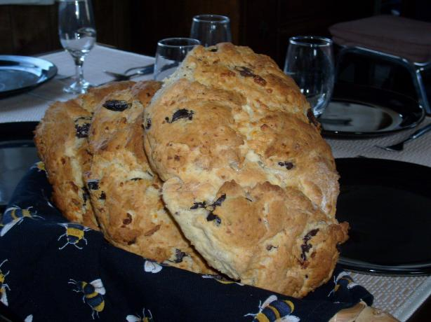Greek Cheese and Olive Quick Bread. Photo by Jenna-Rae