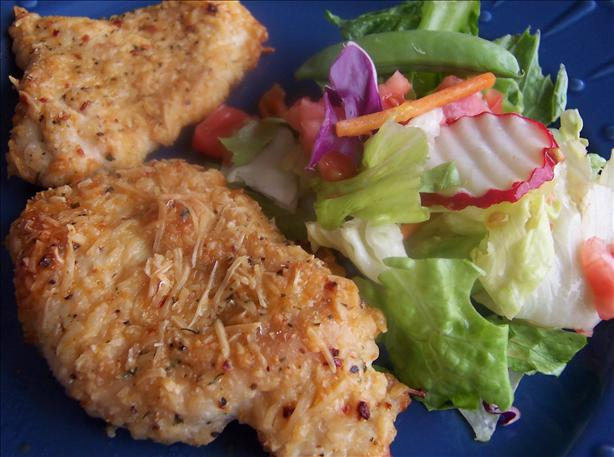 Easy Parmesan Garlic Chicken. Photo by Miss ~V~