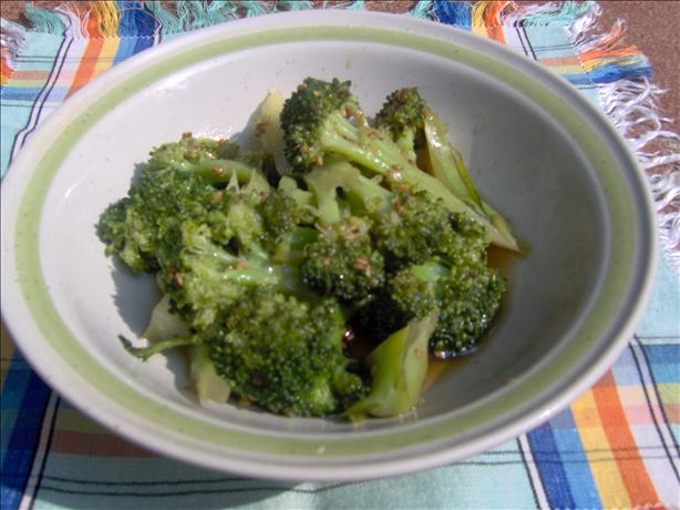 Sesame Broccoli Salad. Photo by Sharon123