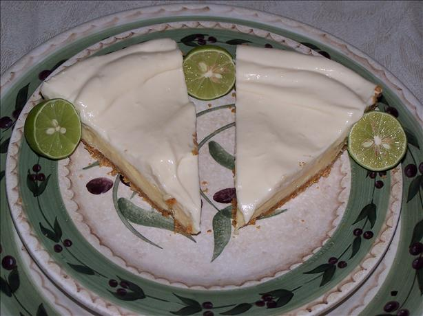 Two-Layer Key Lime Pie. Photo by Luby Luby Luby