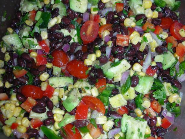 Fiesta Black Bean Salad. Photo by JackieOhNo!