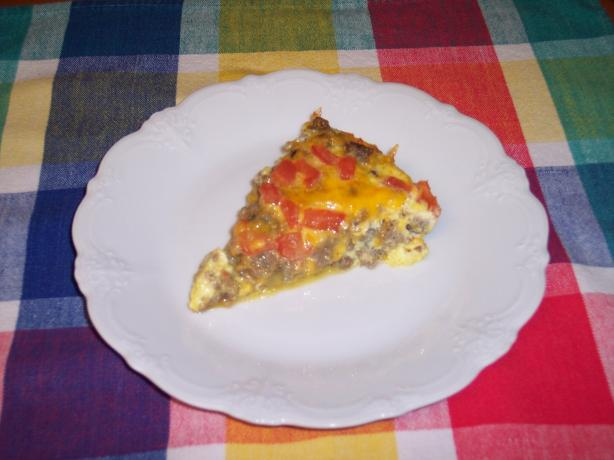 Breakfast &#34;Pizza&#34; (Somersize). Photo by Molly Kate
