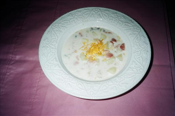Ham Chowder. Photo by Seasoned Cook