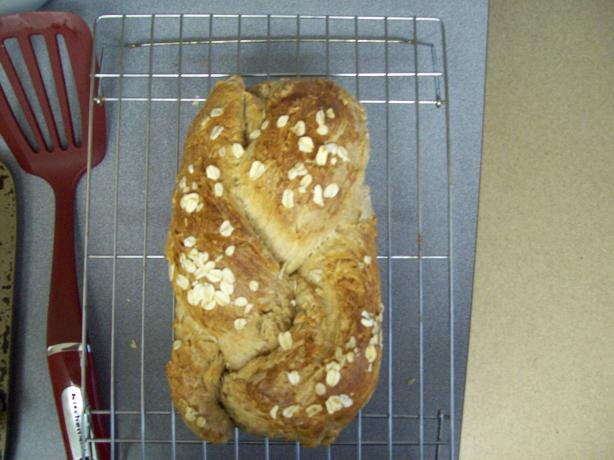 Kitchenaid Honey Oatmeal Bread. Photo by Midnight Sun Chef