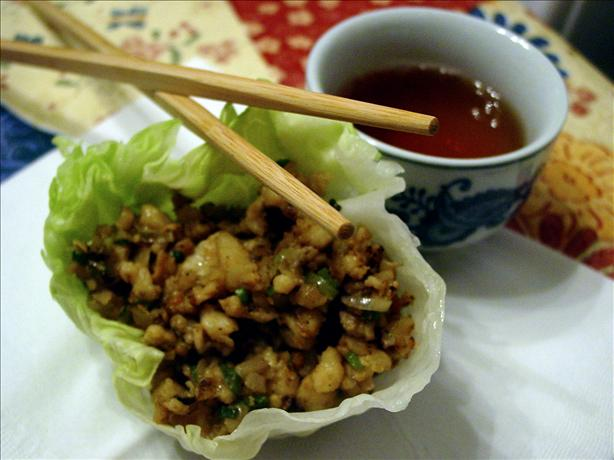 Martin Yan's Lettuce Cups. Photo by Picholine