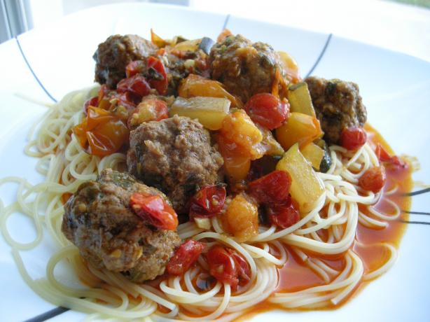 Moroccan Meatballs -- Tagine Kefta. Photo by Teddy's Mommy