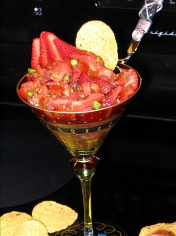 Balsamic Strawberry Salsa. Photo by Chef Decadent1