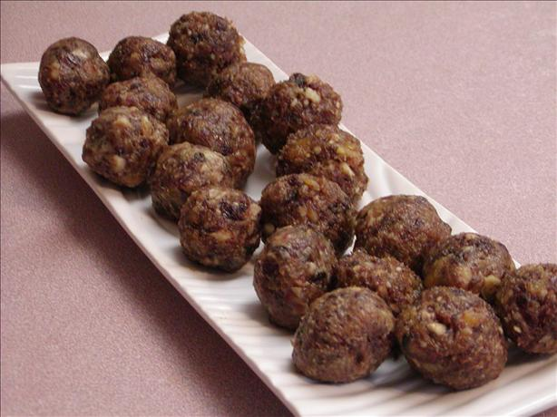 Moroccan Charoset Balls. Photo by Rita~