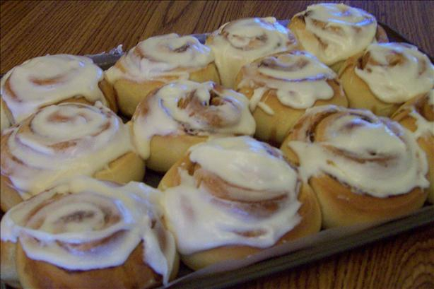 Screamin' Cinnamon Rolls with Cream Cheese Frosting. Photo by American Maid
