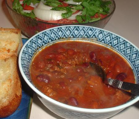 Super Easy Mild Chili. Photo by Bergy