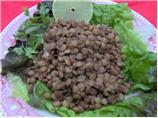 Chilled Lentil Salad with Spicy Vinaigrette