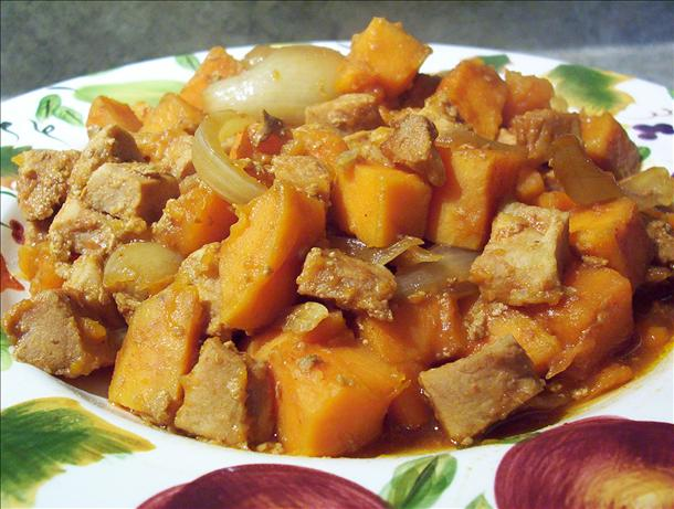 Crock Pot Tangy Pork and Sweet Potatoes. Photo by * Pamela *