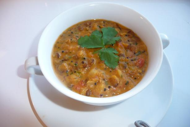 Mulligatawny Soup with Lentils. Photo by Tea Jenny