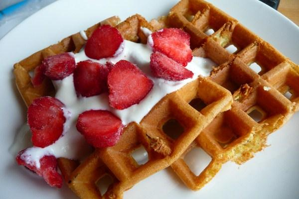 Low Carb Waffles. Photo by Tea Jenny