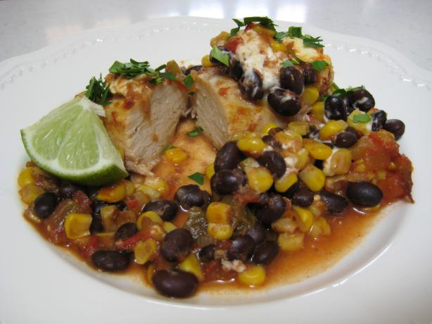 Crock Pot Chicken W Black Beans And Cream Cheese...yum! Recipe - Food.com - 89204