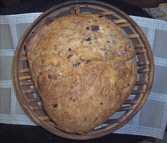 Greek Olive Bread. Photo by duonyte