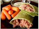 Yummy, Fast and Easy Roast Beef Wrap