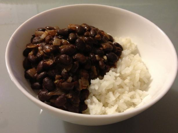 Frijoles Negros (Cuban Black Beans). Photo by Lorelau