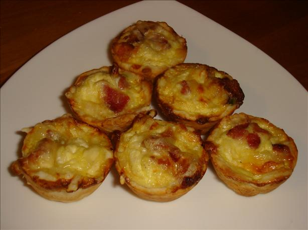 Miniature Quiche Lorraine. Photo by *Pixie*