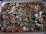 Creamed Spinach and Tortellini Casserole