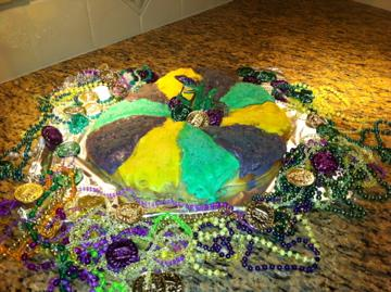 King Cake. Photo by marcybakes