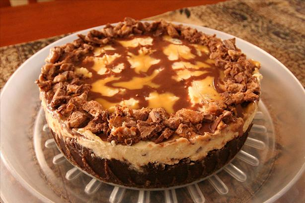 Mars Bar Cheesecake. Photo by Rainette